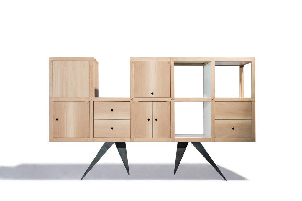 Mobile in legno e metallo su misura Corazzolla