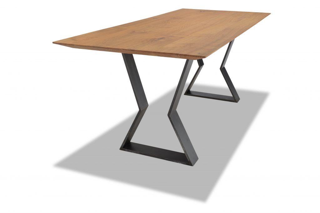 Tavolo in legno e metallo Corazzolla